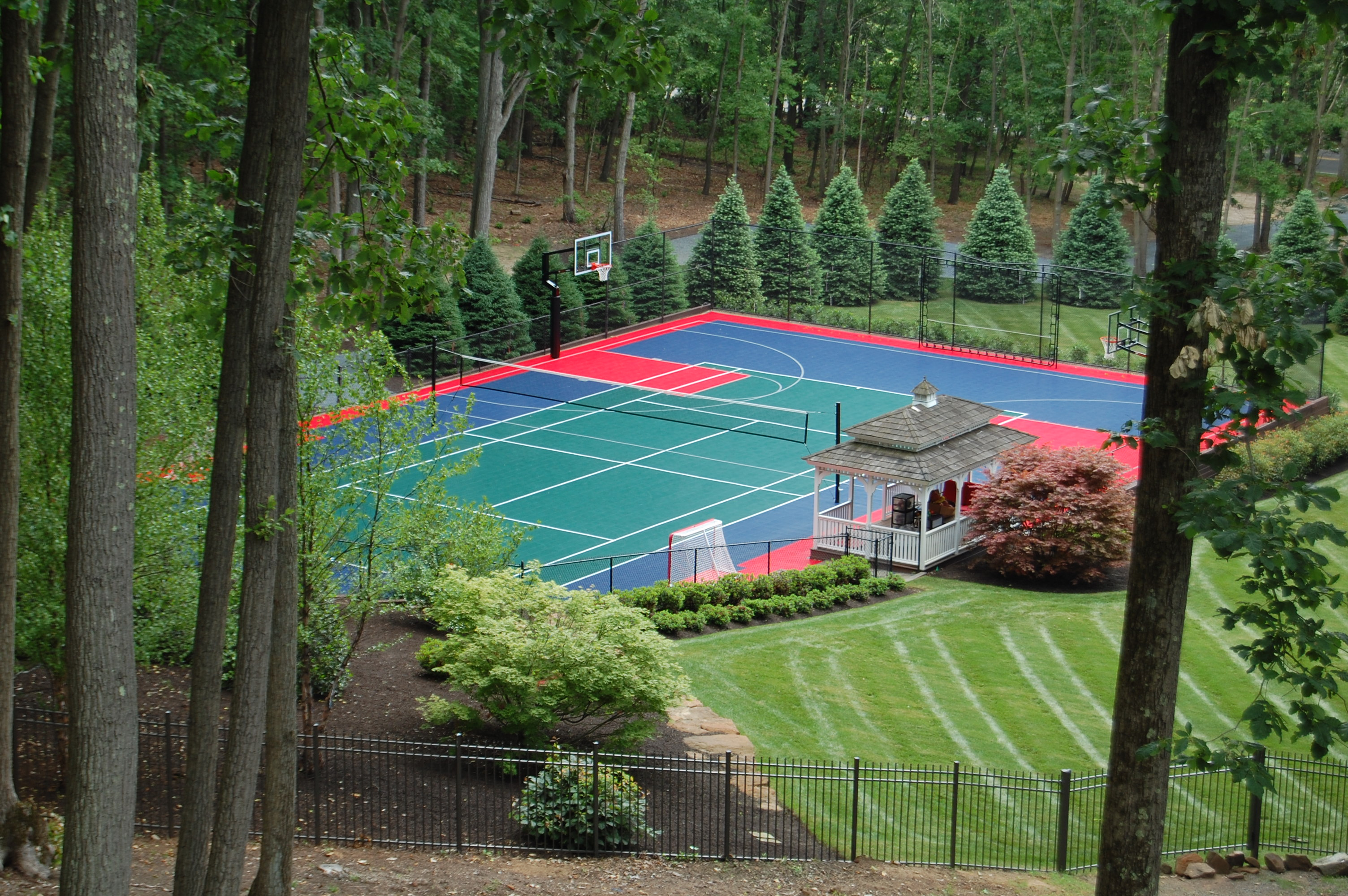 Outdoor Basketball Courts | Indoor Home Gyms | Commercial Court Flooring